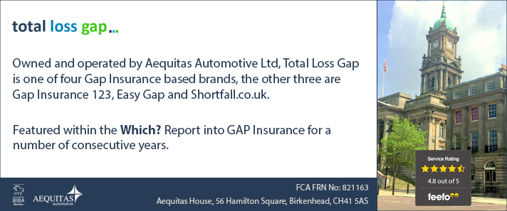 About Total Loss Gap, UK Based Gap Insurance Providers