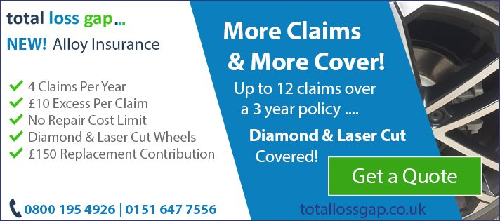 Alloy Wheel Insurance inc Diamond & Laser Cut from totallossgap.co.uk