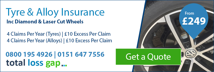 Tyre & Alloy Wheel Insurance Combined at totallossgap.co.uk