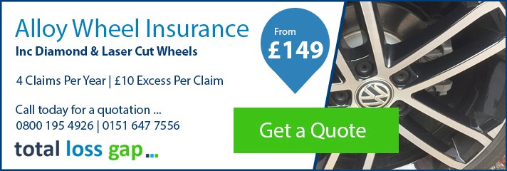 Diamond & Laser Cut Alloy Wheel Insurance