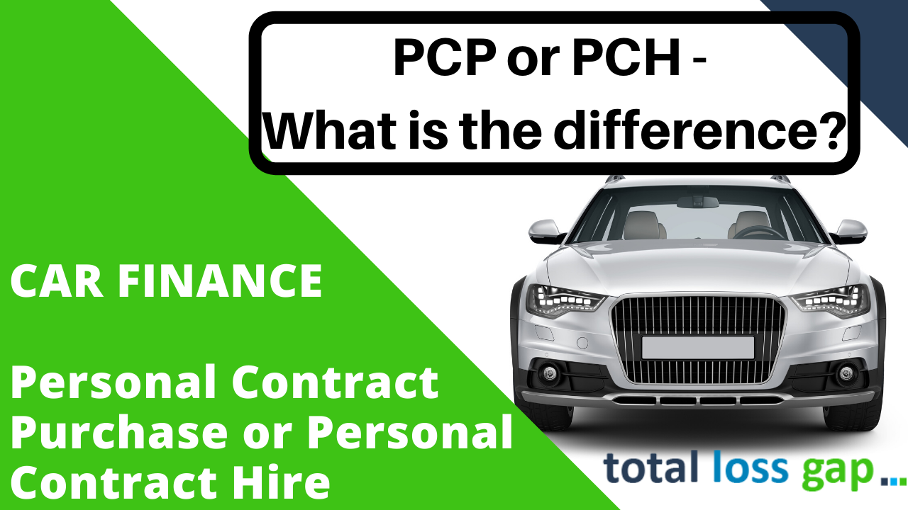 PCH or PCP finance - What is the difference?