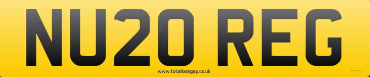 new 20 plate car UK