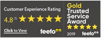 Total Loss Gap | Feefo Gold Trusted Service Award Winners 2019