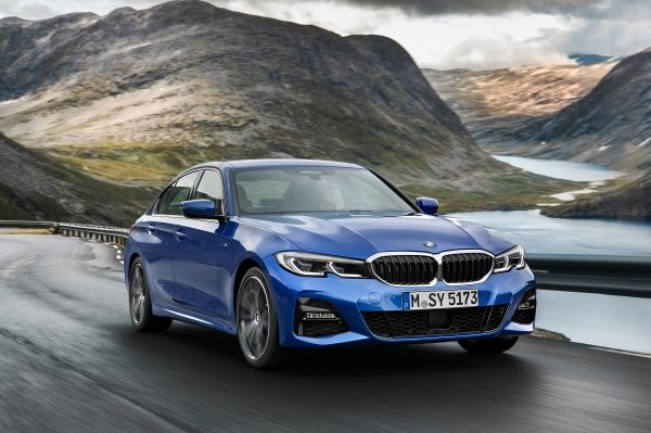 new BMW 3 series 2019 front