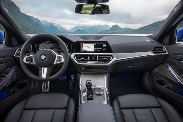 new BMW 3 series 2019 interior