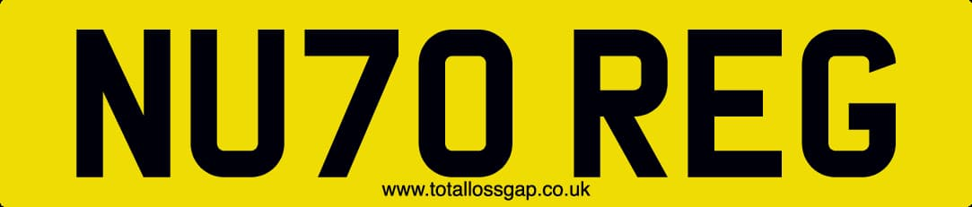 new 70 plate registration